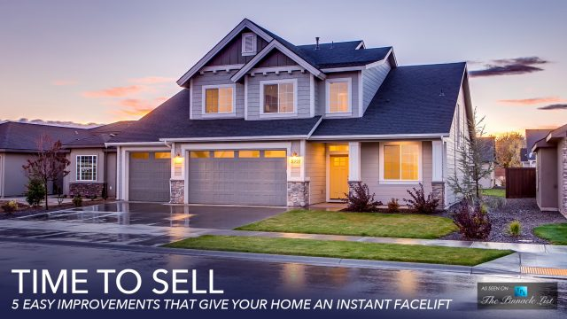 Time to Sell - 5 Easy Improvements That Give Your Home an Instant Facelift
