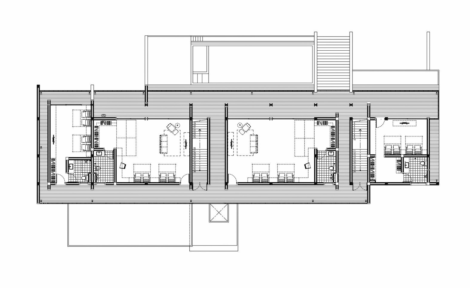 Floor Plans - Baan Bang Saray House - Sattahip District, Chon Buri, Thailand