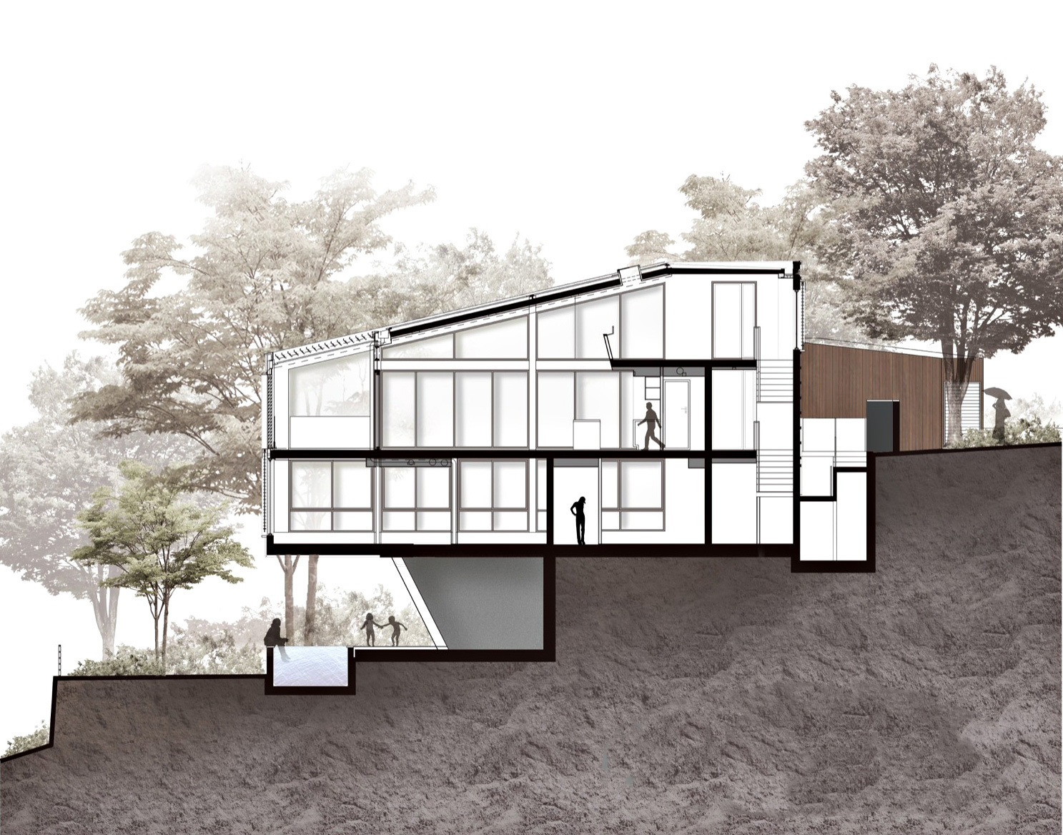 Elevations - Seaforth House Residence - Sydney, New South Wales, Australia