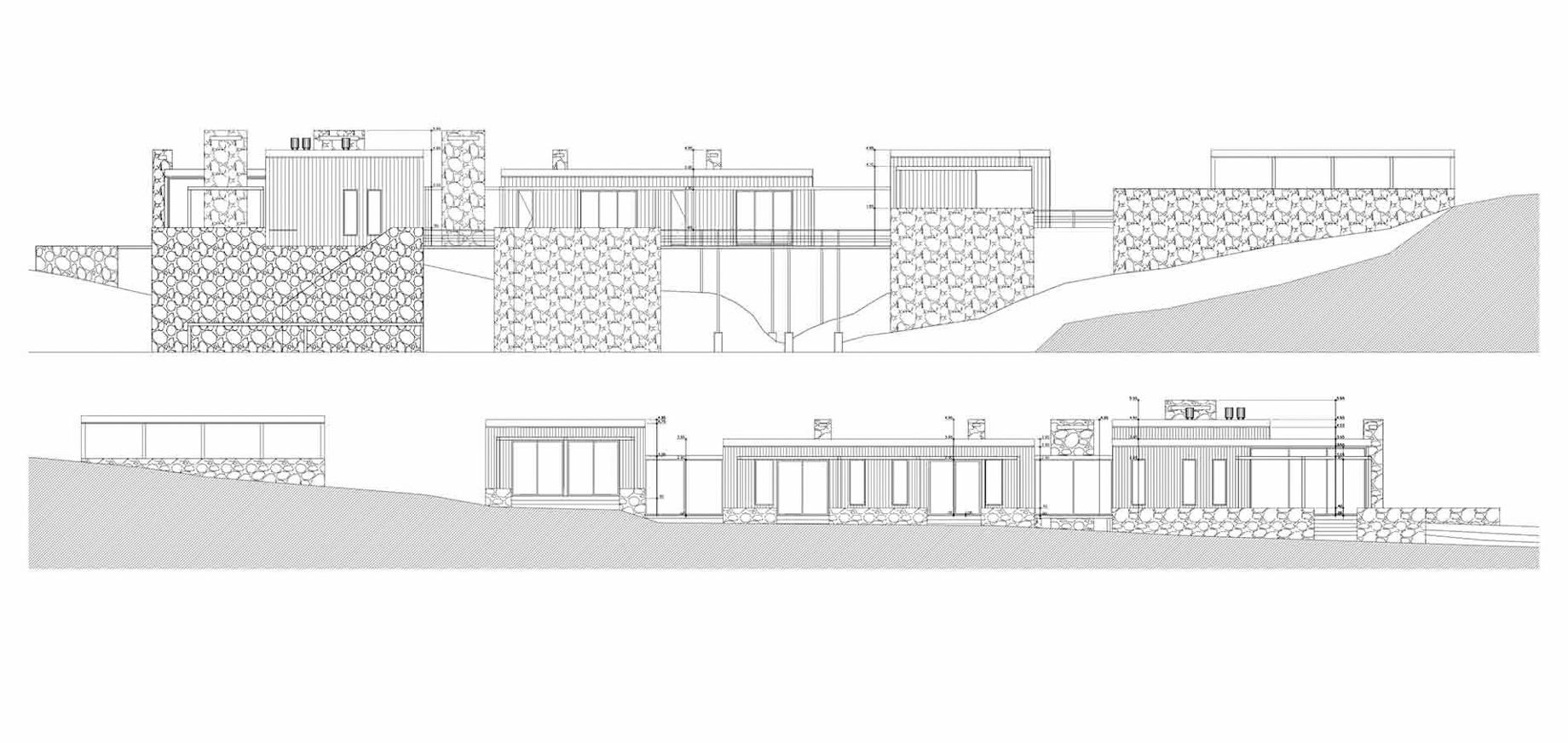 Elevation – La Boyita House – Santa Mónica, Maldonado, Uruguay