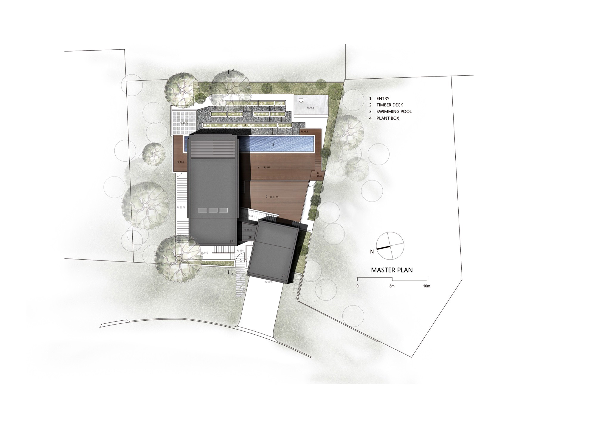 Site Plan - Seaforth House Residence - Sydney, New South Wales, Australia