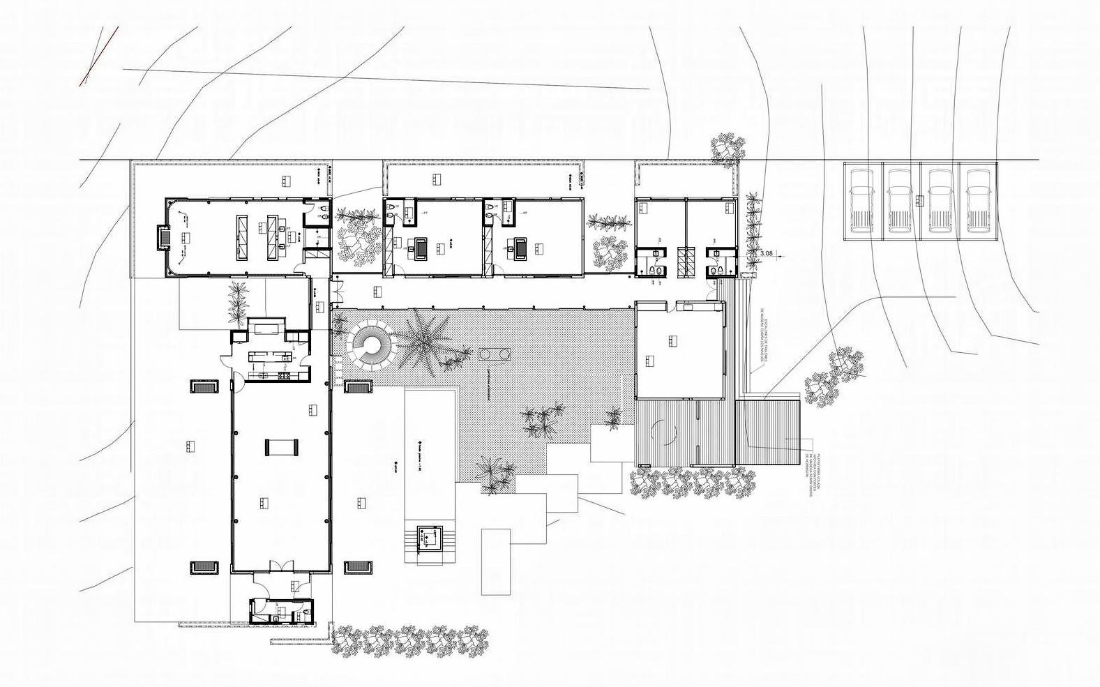 Site Plan - La Boyita House - Santa Mónica, Maldonado, Uruguay