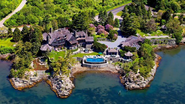 Wildacre - The Luxury Oceanfront Estate of Billionaire Campbell Soup Heiress Dorrance Hamilton