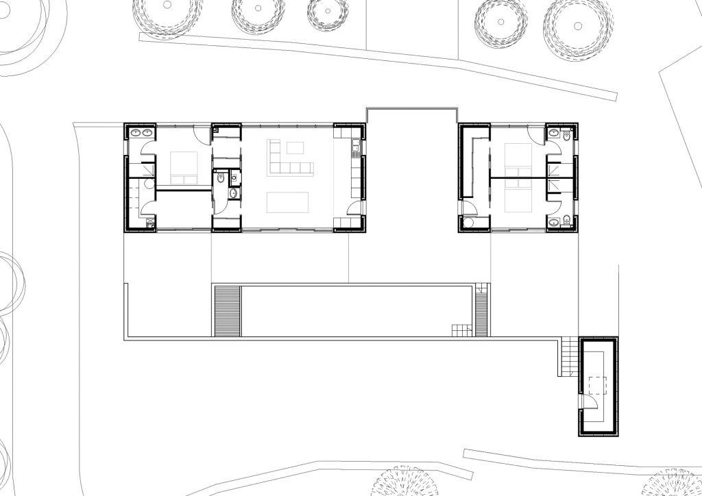 Floor Plans - Villa Temperee Residence - Lodève, Hérault, Occitanie, France