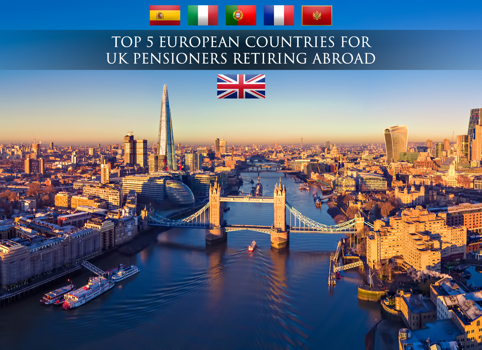 Top 5 European Countries for UK Pensioners Retiring Abroad