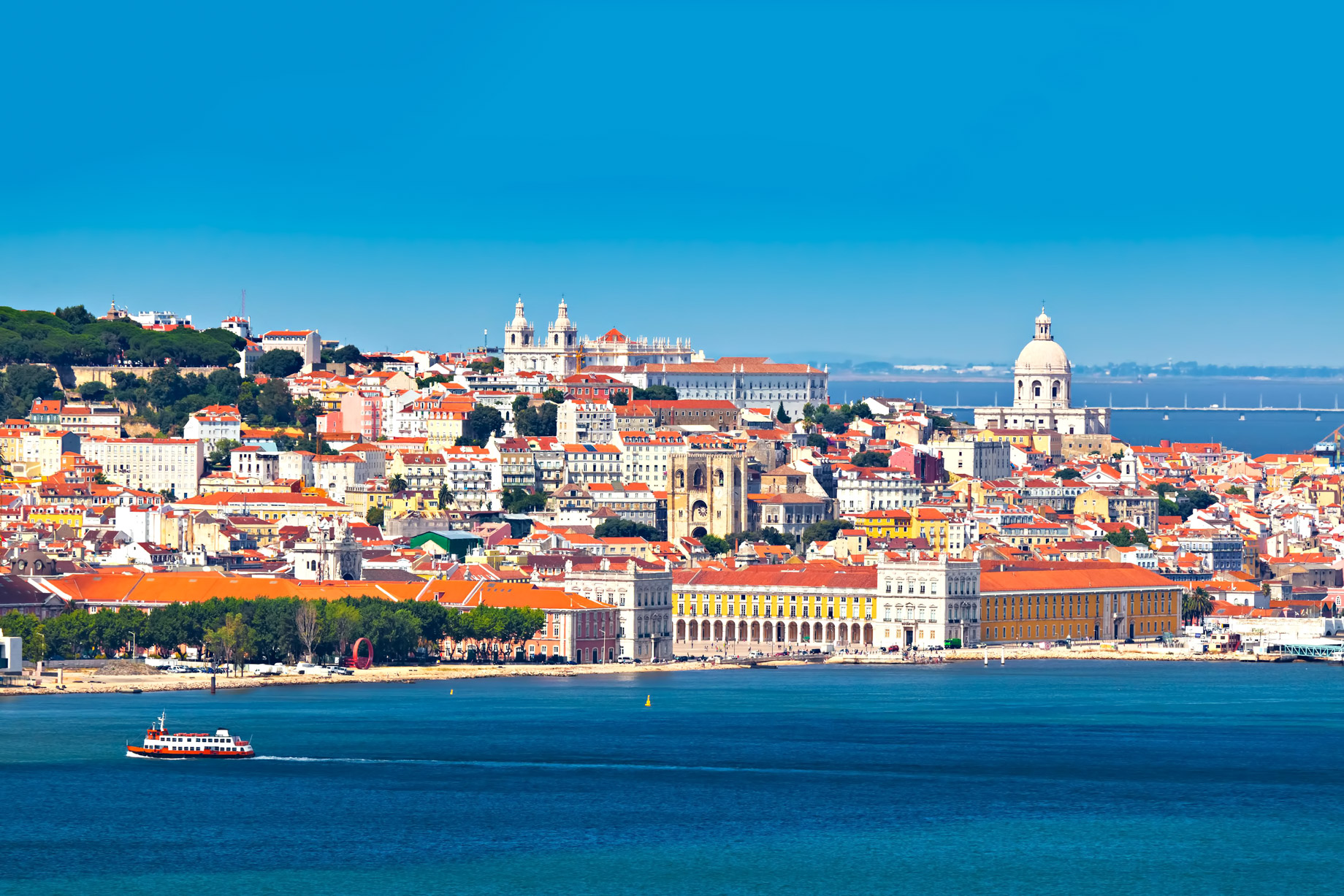 Lisbon, Portugal - Top 5 European Countries for UK Pensioners Retiring Abroad