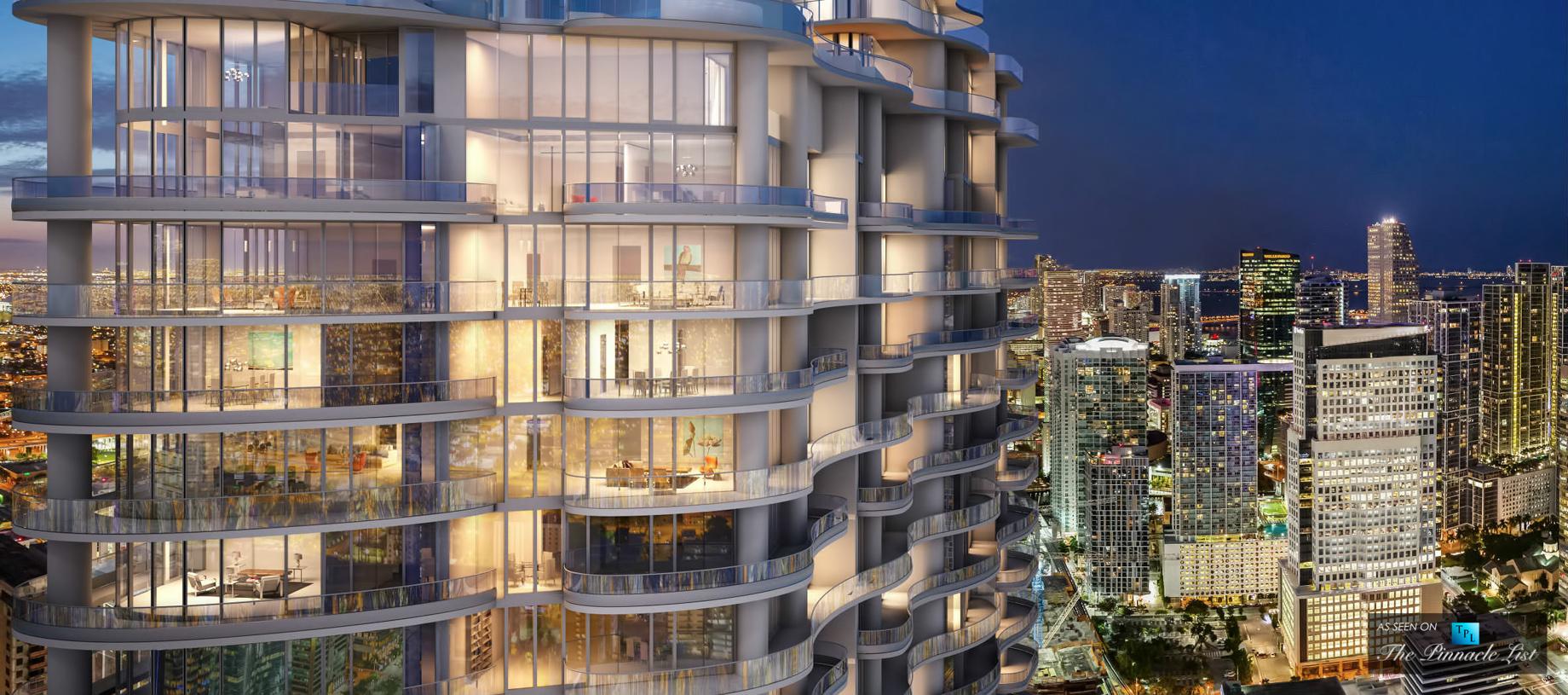 Brickell Flatiron Luxury Condos - 1001 S Miami Ave, Miami, FL, USA