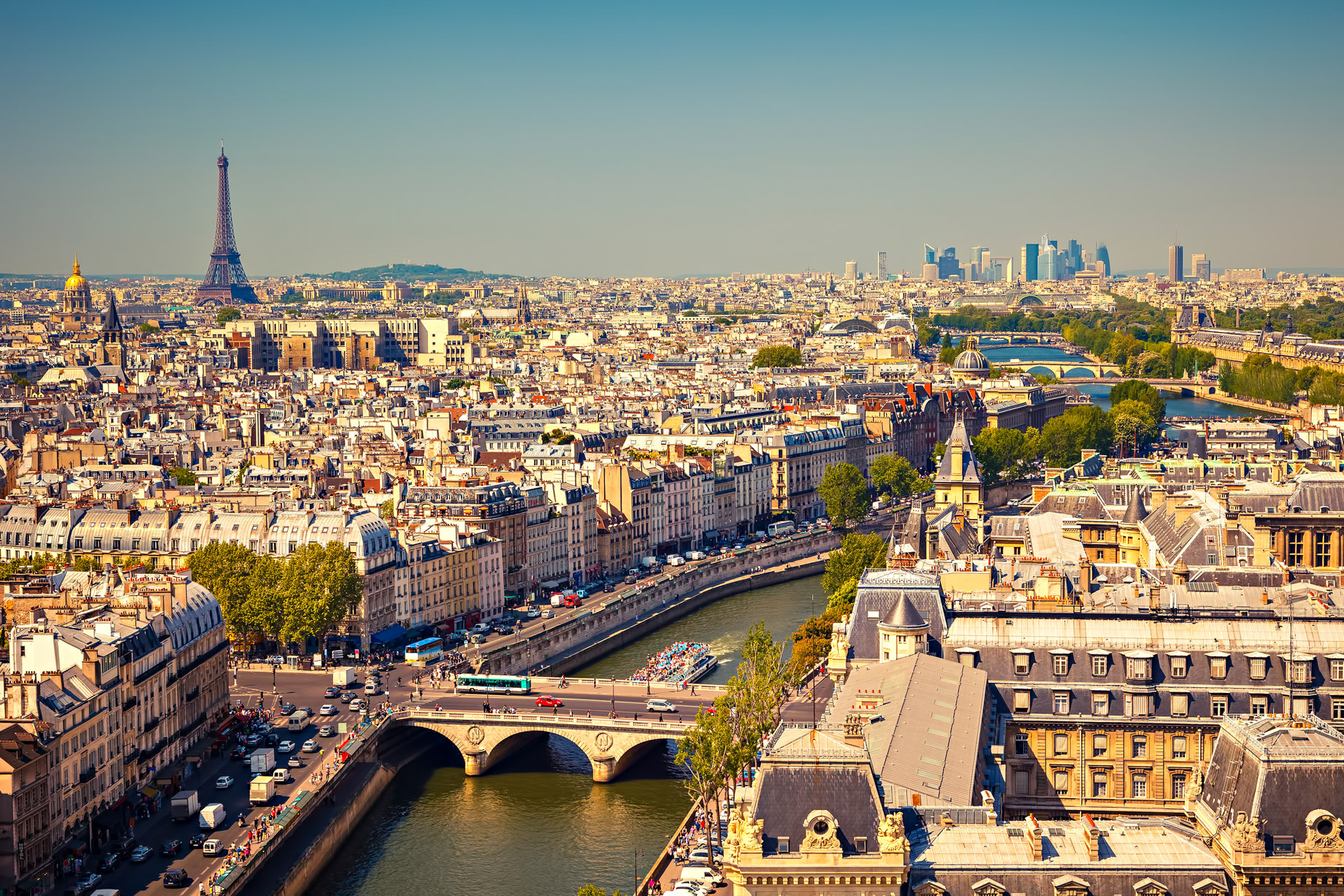 Paris, France - Top 5 European Countries for UK Pensioners Retiring Abroad