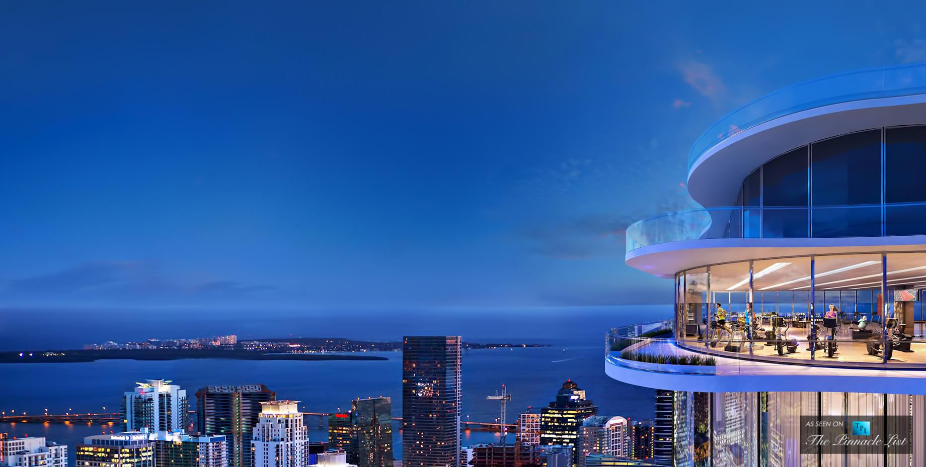 Brickell Flatiron Sky Gym - 1001 S Miami Ave, Miami, FL, USA