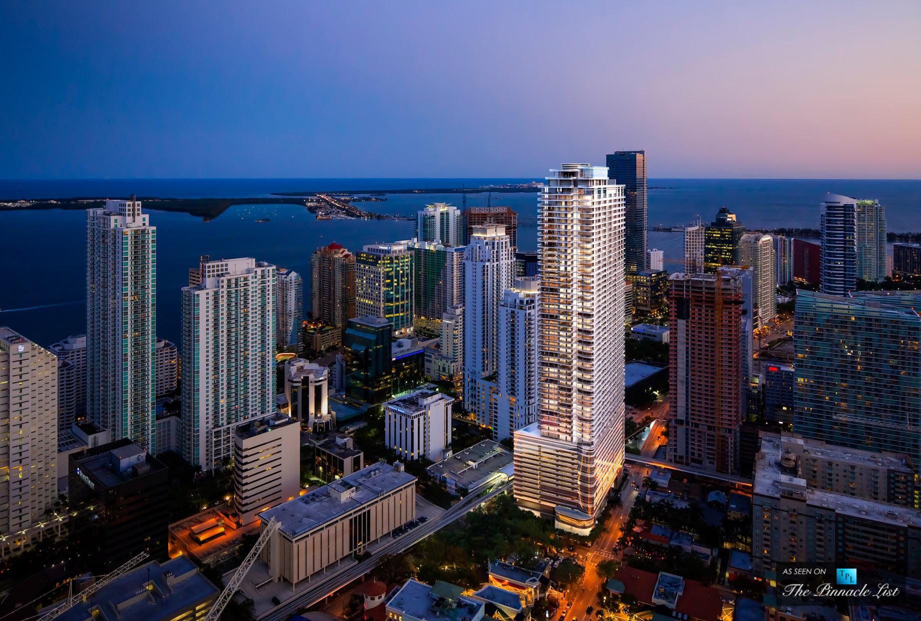 Brickell Flatiron Skyline - 1001 S Miami Ave, Miami, FL, USA