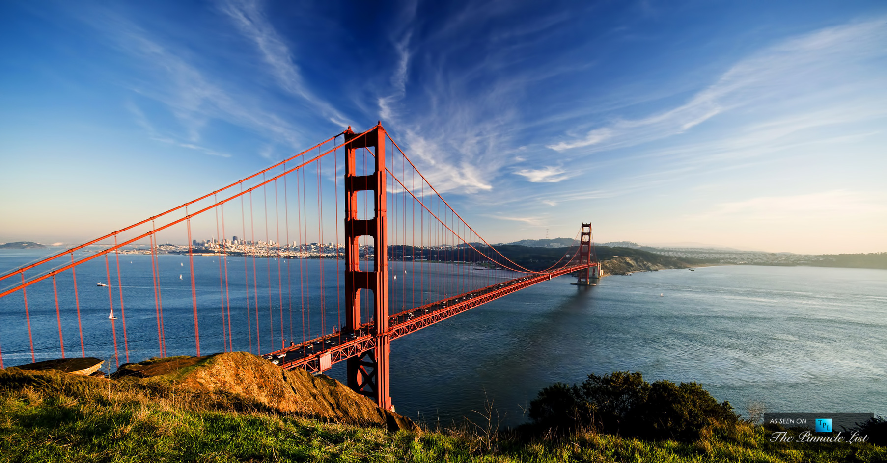 Golden Gate Bridge View - Battery Spencer at Fort Baker, Conzelman Rd, Sausalito, CA, USA