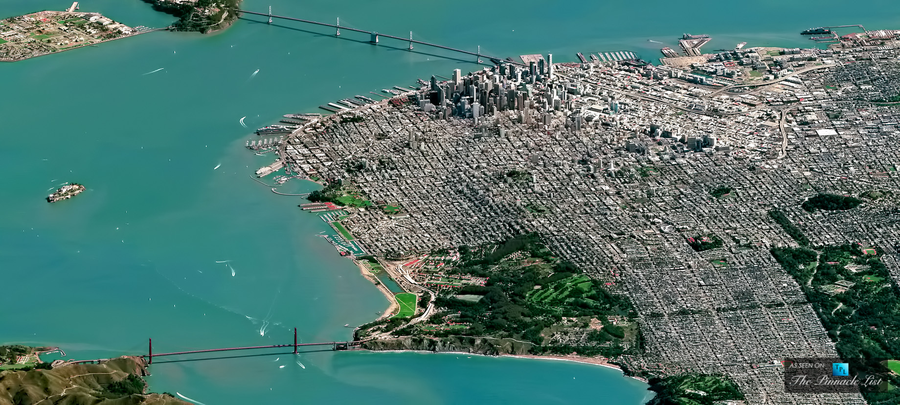 Aerial View of San Francisco - One of the Hottest Housing Markets in America