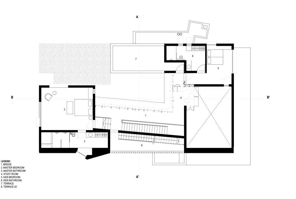 Floor Plans - Shadow House Luxury Residence - Mumbai, Maharashtra, India
