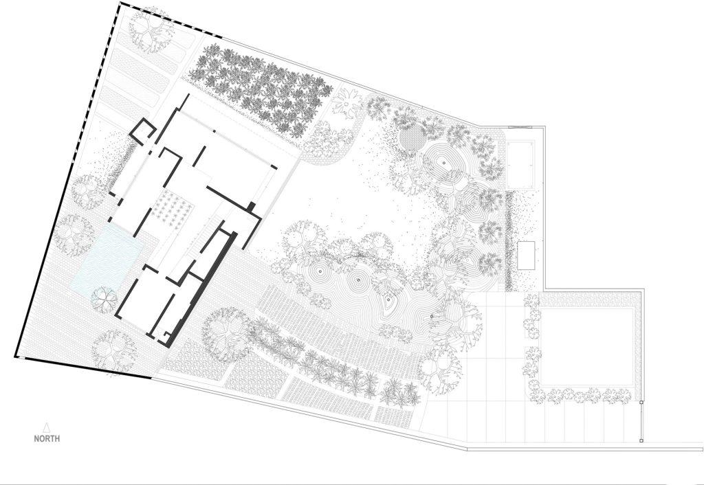 Site Plan - Shadow House Luxury Residence - Mumbai, Maharashtra, India