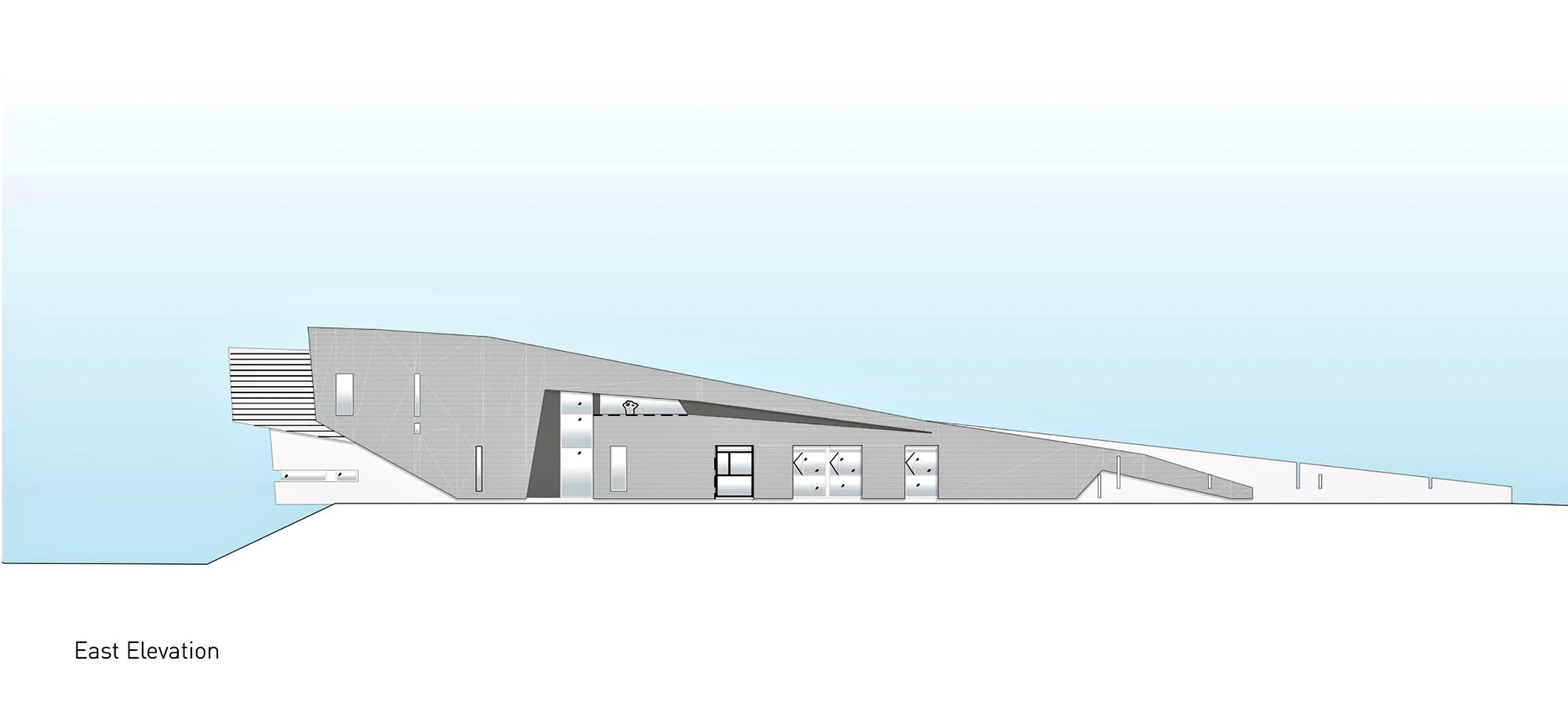 East Elevation – Port Hope Residence – Lakeshore Rd, Port Hope, ON, Canada