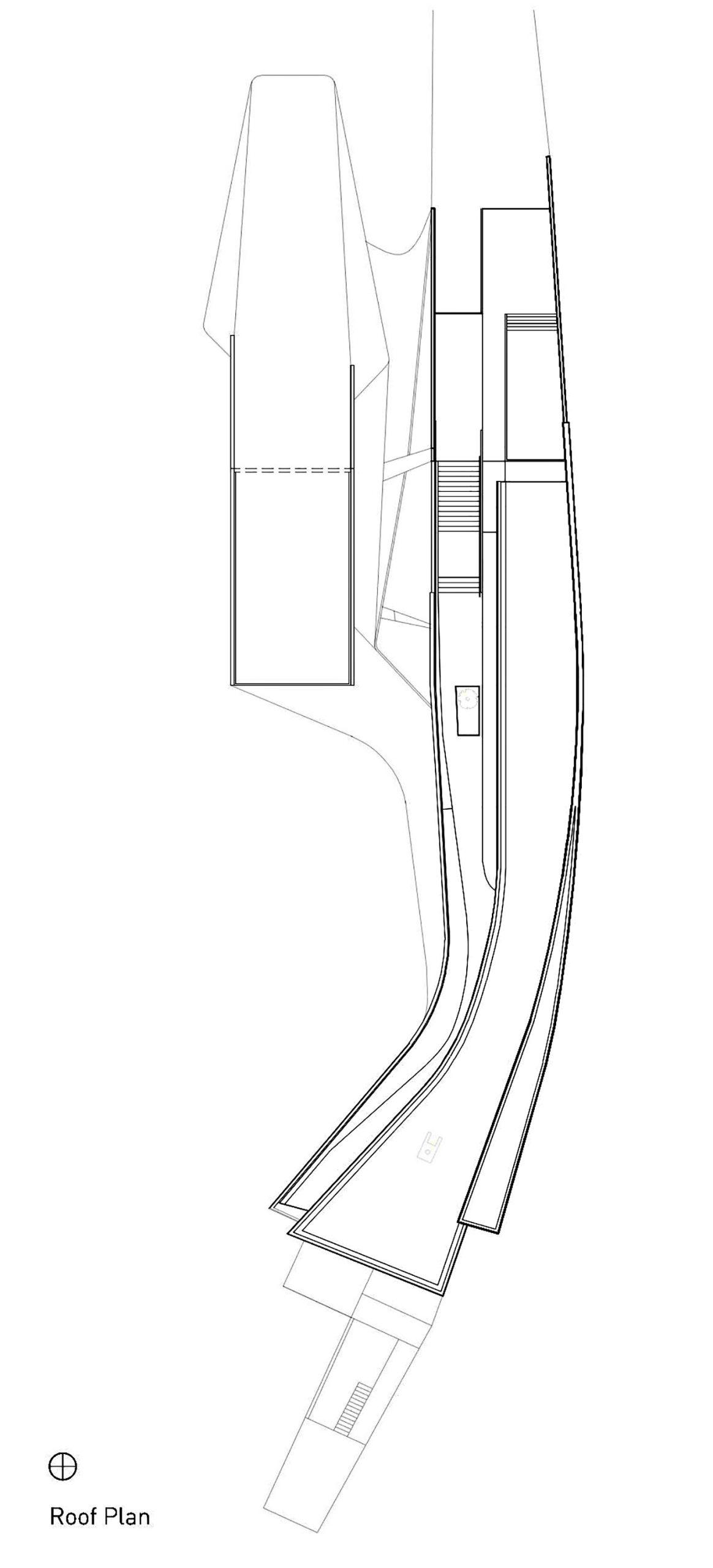 Roof Floor Plan – Port Hope Residence – Lakeshore Rd, Port Hope, ON, Canada