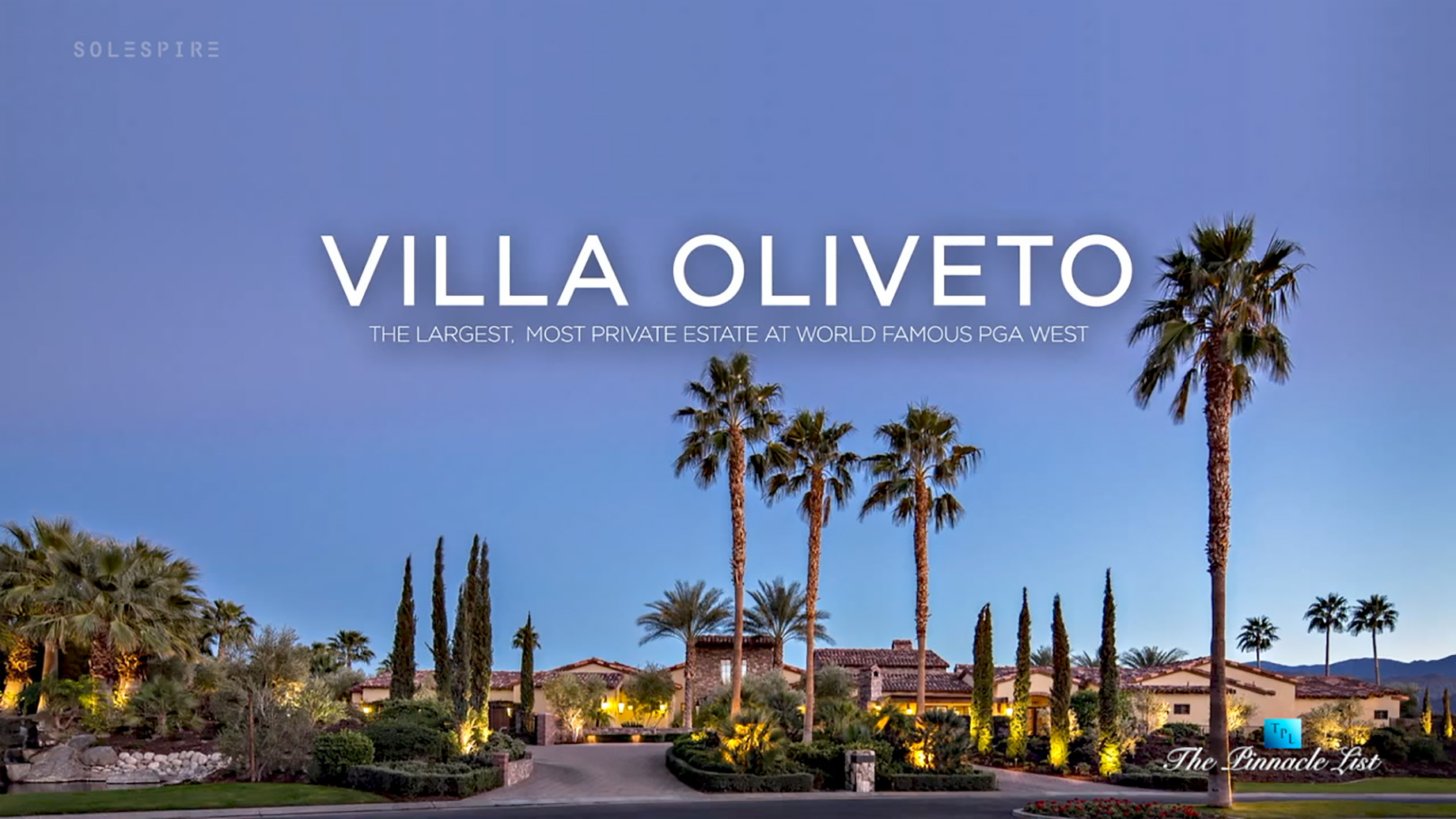 Villa Oliveto - 57370 Peninsula Ln, La Quinta, CA, USA - Video