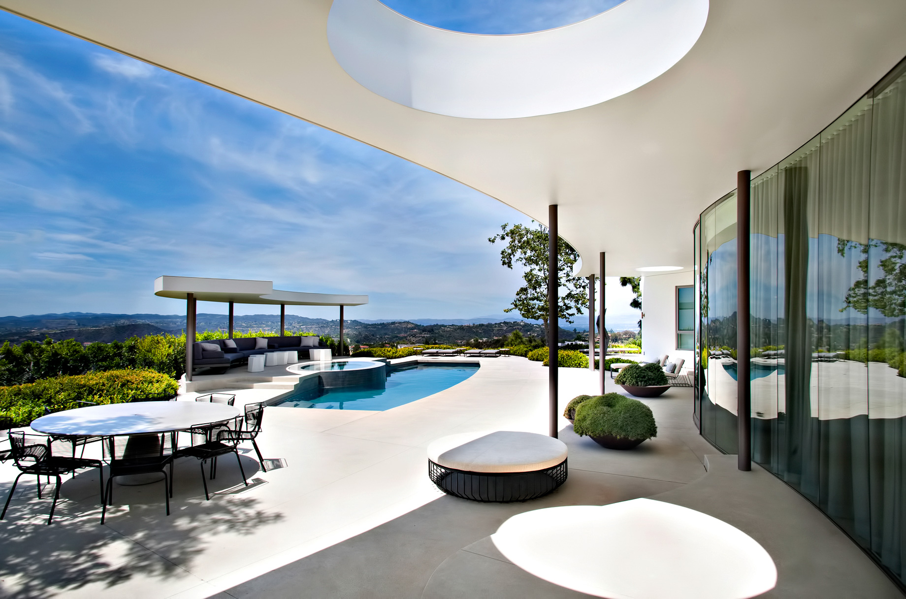 Trousdale Estates Modern - 1935 Carla Ridge, Beverly Hills, CA, USA