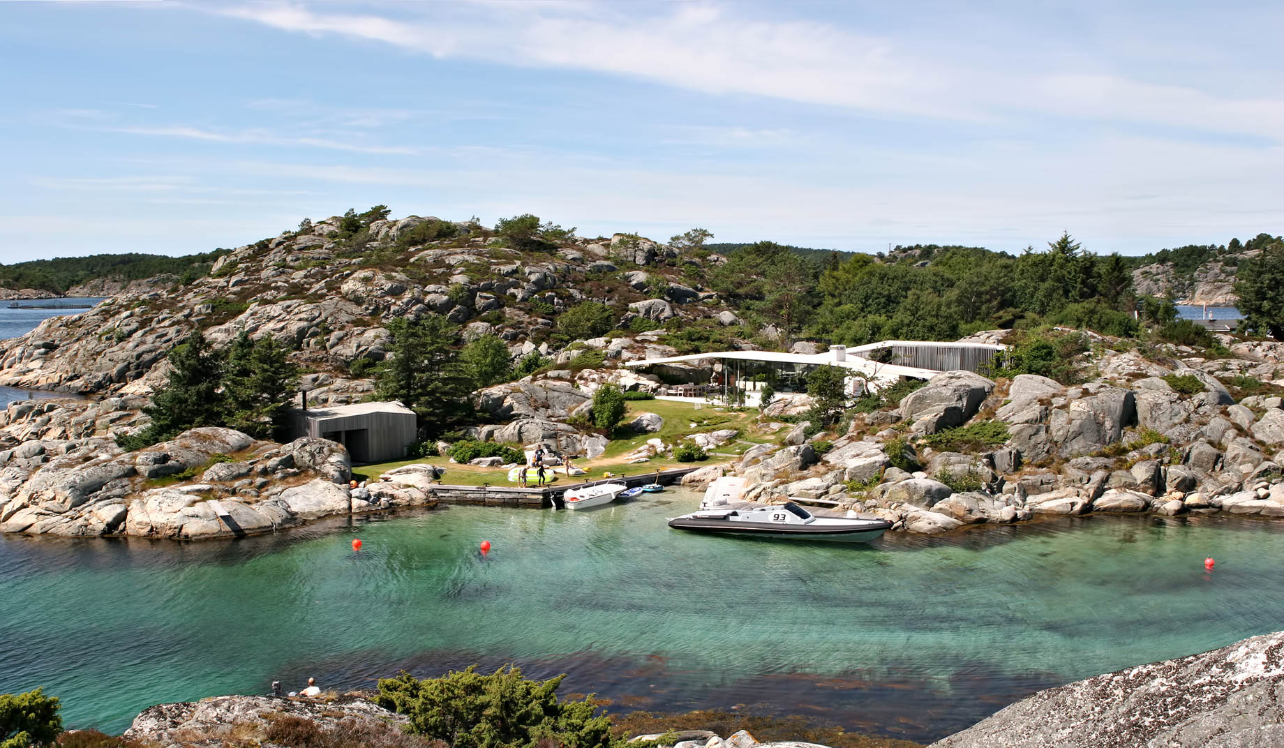 Lyngholmen Summer House - Lillesand, Agder, Norway - The ...