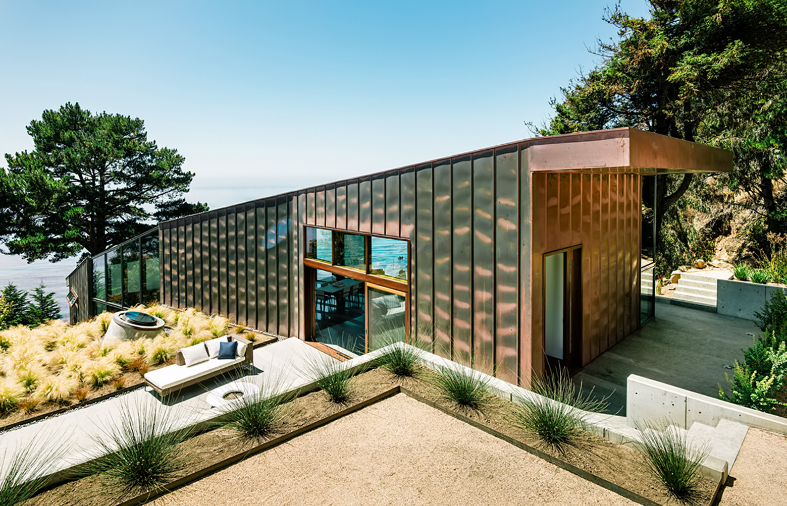Fall House Luxury Residence – Cabrillo Hwy, Big Sur, CA, USA