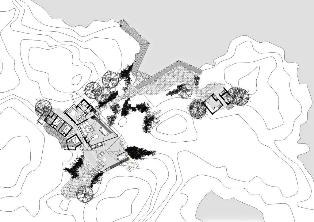 Floor Plans - Lyngholmen Summer House - Lillesand, Agder, Norway
