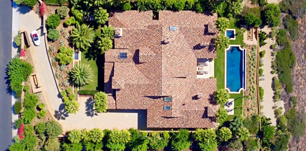 Aerial - Marisol Spanish Estate - 11768 Ellice St, Malibu, CA, USA