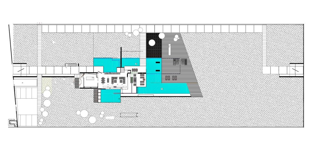 Site Plan - H3 House Luxury Residence - Athens, Greece