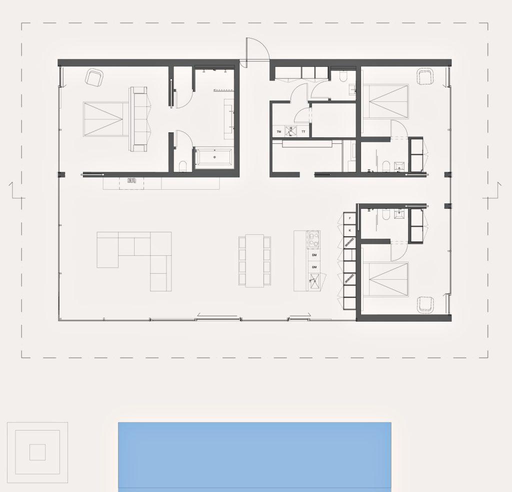 Floor Plans - Villa Overby Luxury Residence - Värmdö, Stockholm, Sweden