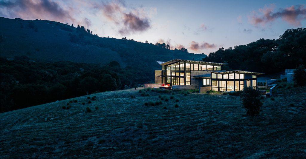 Pano - Butterfly House - Santa Lucia Preserve, Carmel, CA, USA