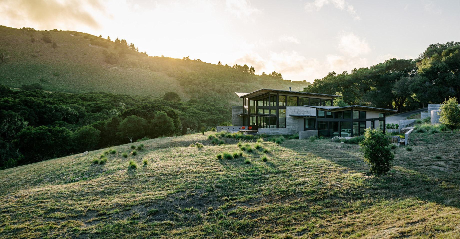 Pano – Butterfly House – Santa Lucia Preserve, Carmel, CA, USA