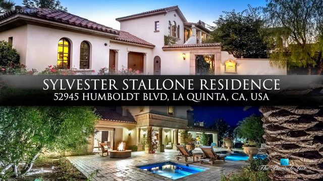 Sylvester Stallone Residence - 52945 Humboldt Blvd, La Quinta, CA, USA - Luxury Real Estate