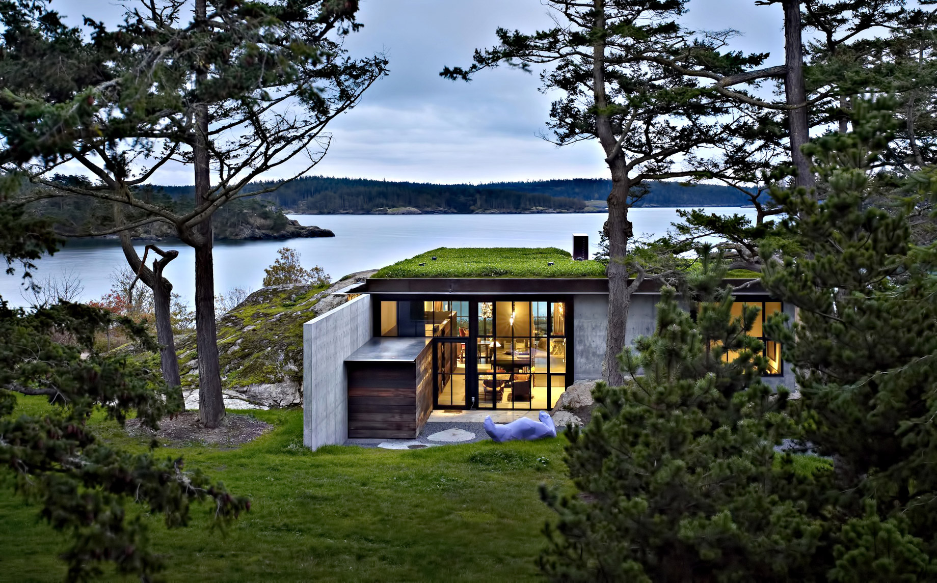 Pierre House Luxury Residence - San Juan Islands, WA, USA