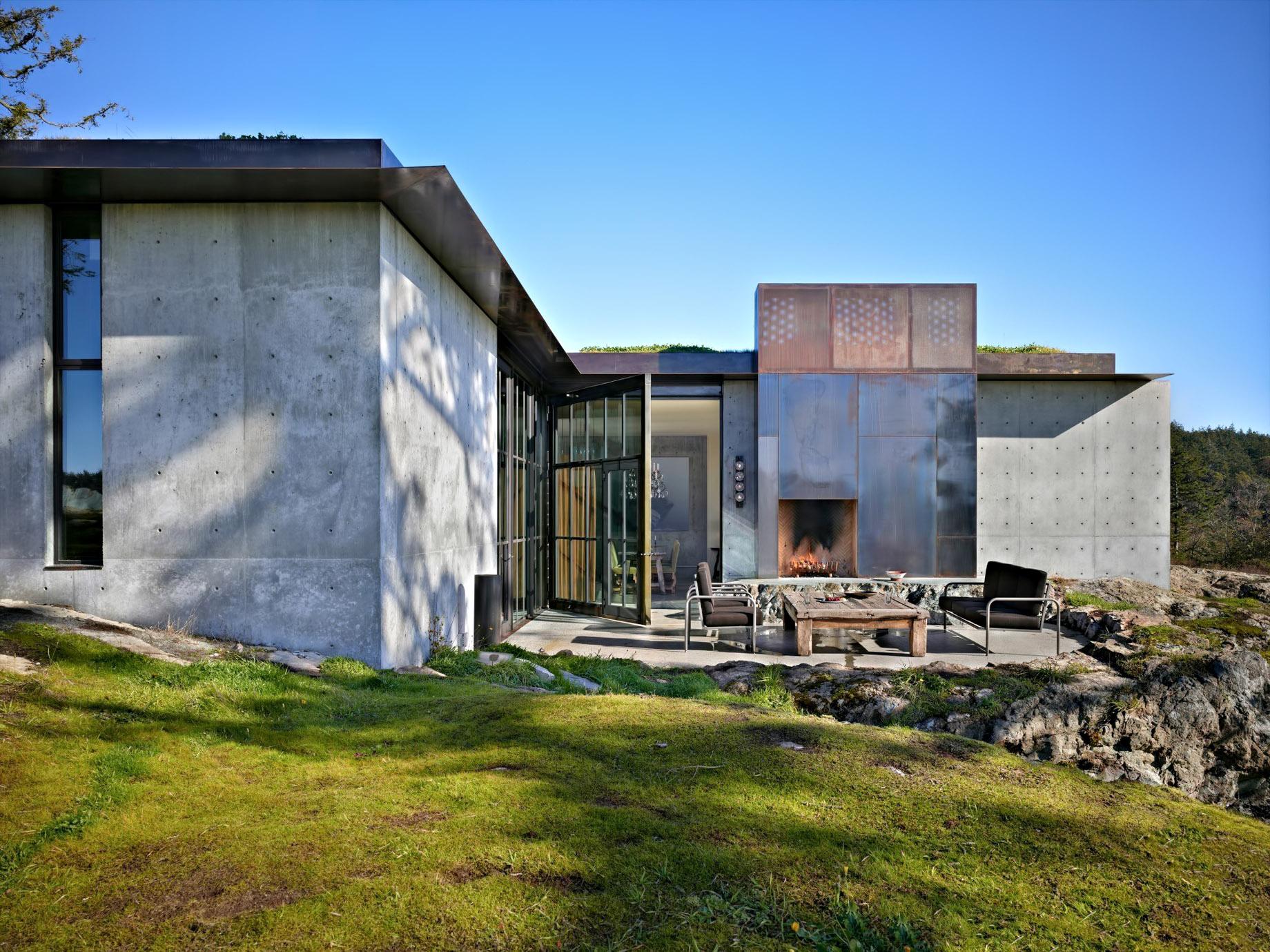 Pierre House Luxury Residence – San Juan Islands, WA, USA