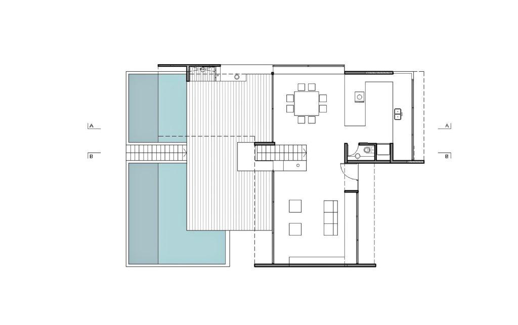 Floor Plans - Casa en la Duna - Costa Esmeralda, Buenos Aires, Argentina