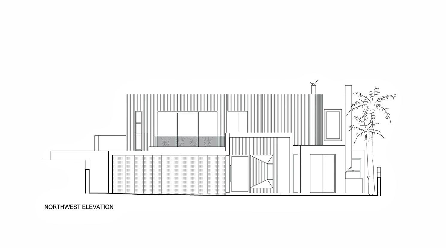 Northwest Elevation – Dalkeith Luxury Residence – 135 Circe Cir, Dalkeith, WA, Australia