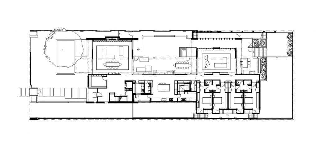 Floor Plans - Gallery House - 40 The Avenue, Nedlands, WA, Australia