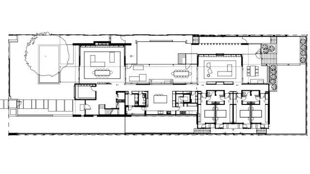 Floor Plans - Gallery House - 40 The Avenue, Nedlands, WA, Australia