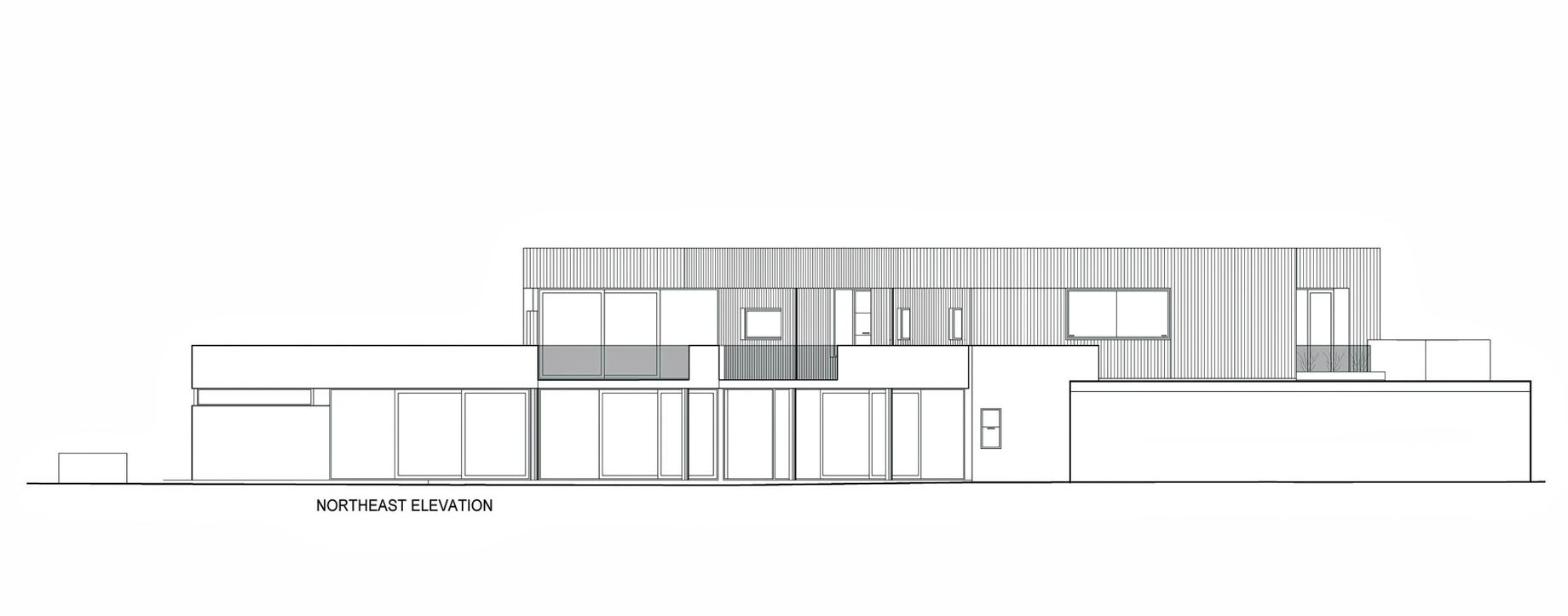 Northeast Elevation - Dalkeith Luxury Residence - 135 Circe Cir, Dalkeith, WA, Australia