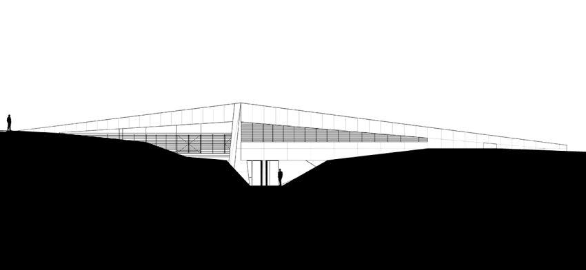 Elevations - Sikamino Residence - Oropos, Attica, Greece