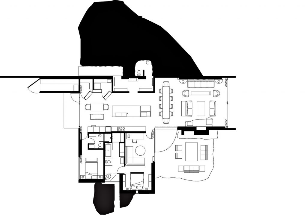 Floor Plans - Pierre House Luxury Residence - San Juan Islands, WA, USA