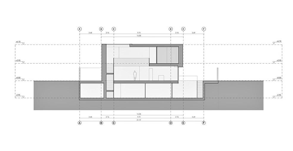 Elevation - Casa Balint Luxury Residence - Bétera, València, Spain