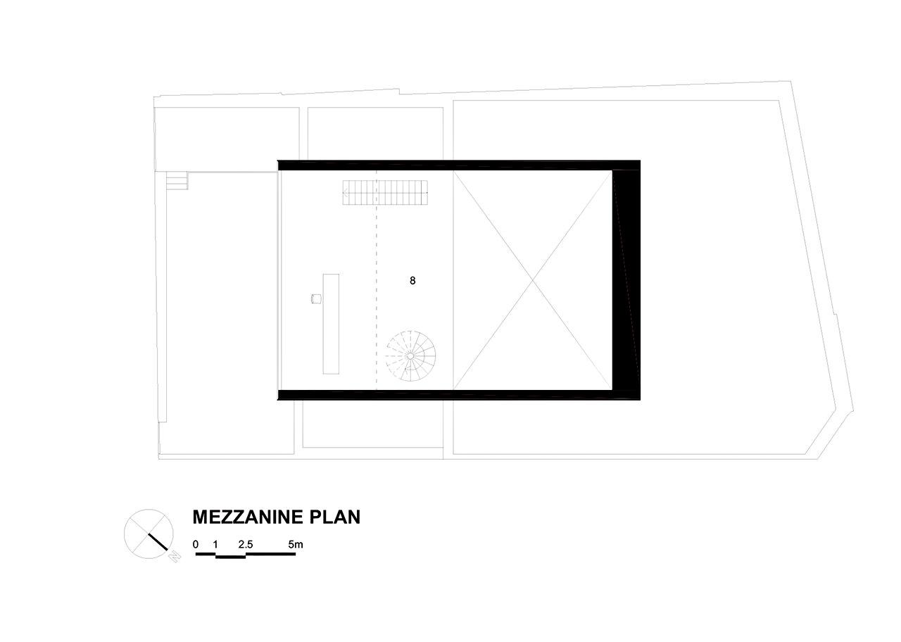 Floor Plan – Cubo House Luxury Residence – Jardins, São Paulo, Brazil