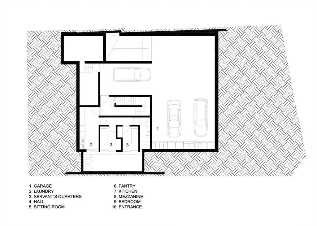 Floor Plan - Cubo House Luxury Residence - Jardins, São Paulo, Brazil