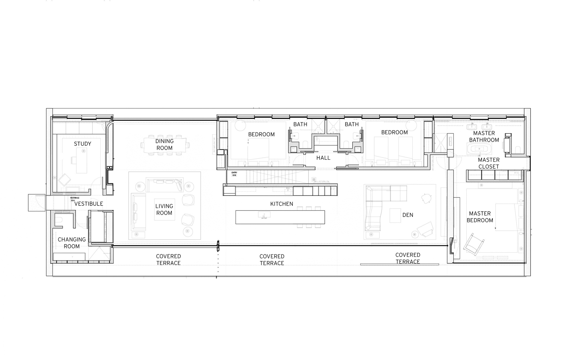 Floor Plans – Hamptons Luxury Modern – 1285 Flying Point Rd, Water Mill, NY, USA