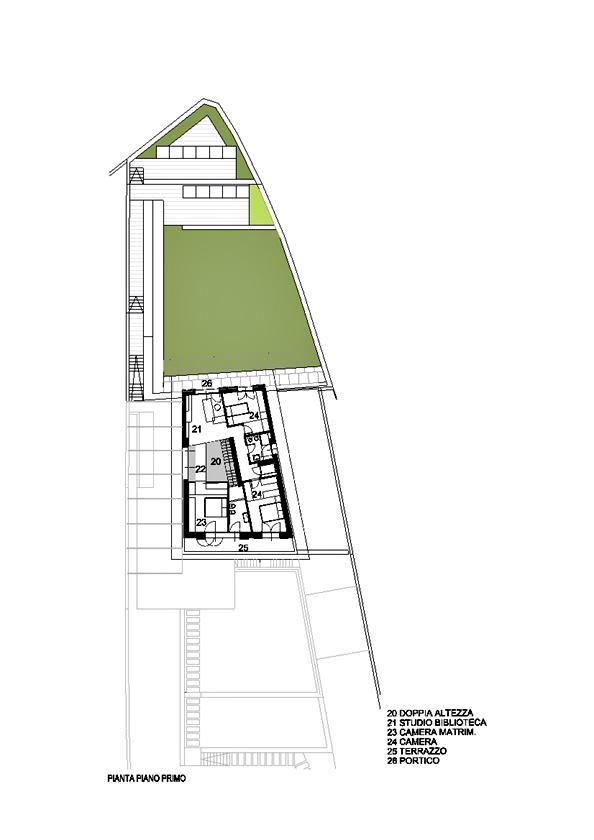 Floor Plans - Casa GT Luxury Villa - Postalesio, Sondrio, Lombardy, Italy
