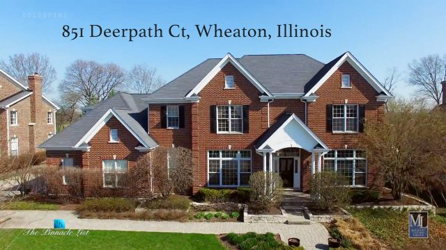 851 Deerpath Ct, Wheaton, IL, USA - Luxury Real Estate