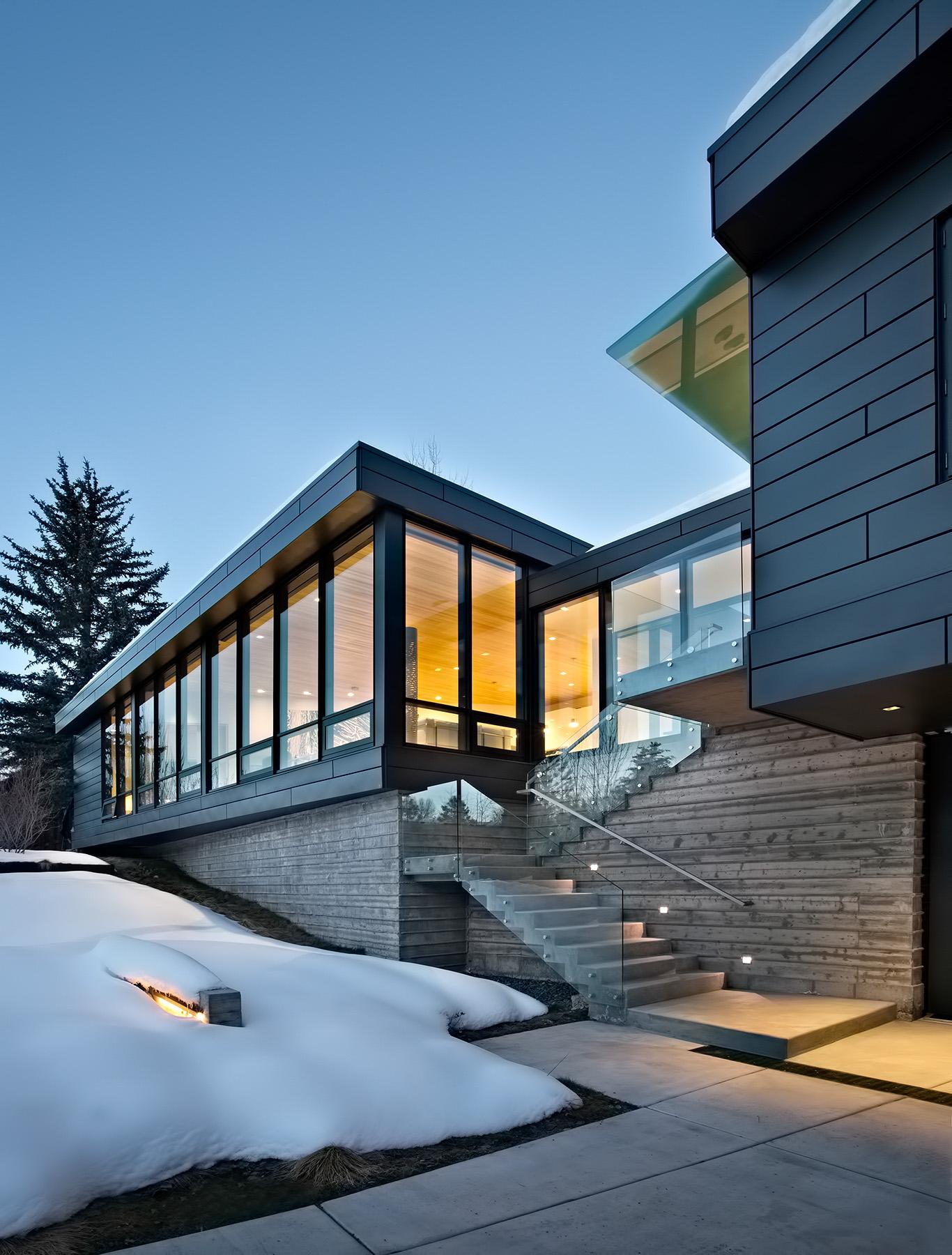 Zinc House Luxury Residence - Aspen, CO, USA