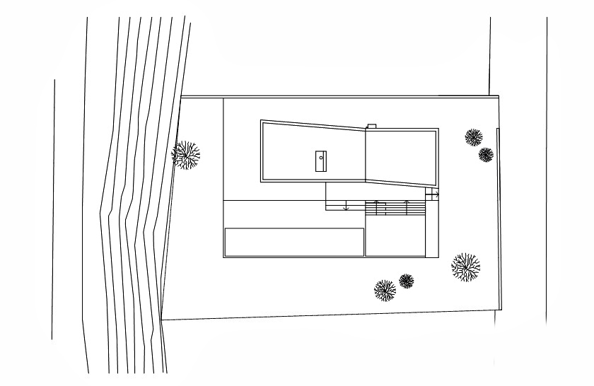 Site Plan - Widlund House Luxury Residence - Öland, Kalmar, Sweden