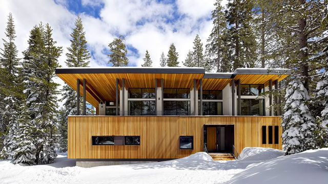Huneeus House Luxury Residence - Sugar Bowl, Norden, CA, USA