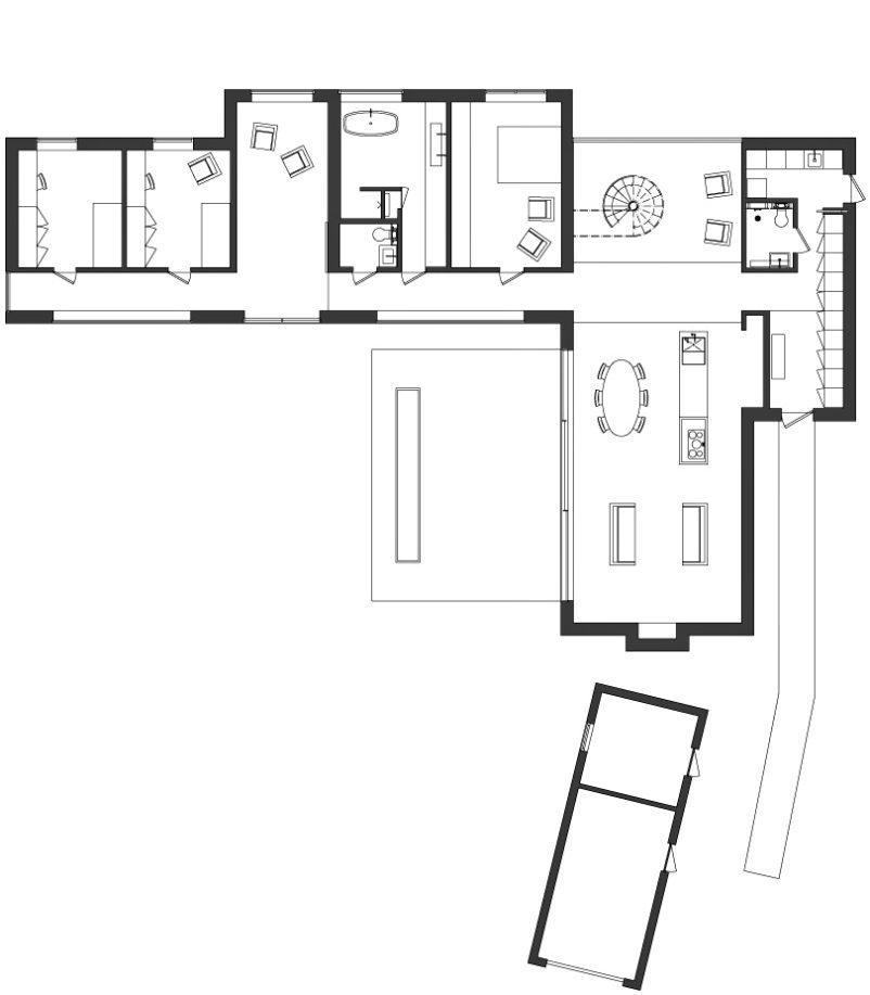 Floor Plans - Villa J2 Luxury Residence - Falsterbo, Skåne, Sweden